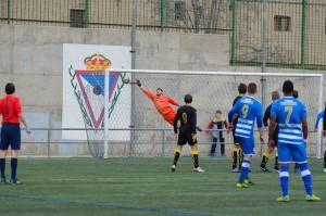 Gol de Agus frente al Deportivo Aragón