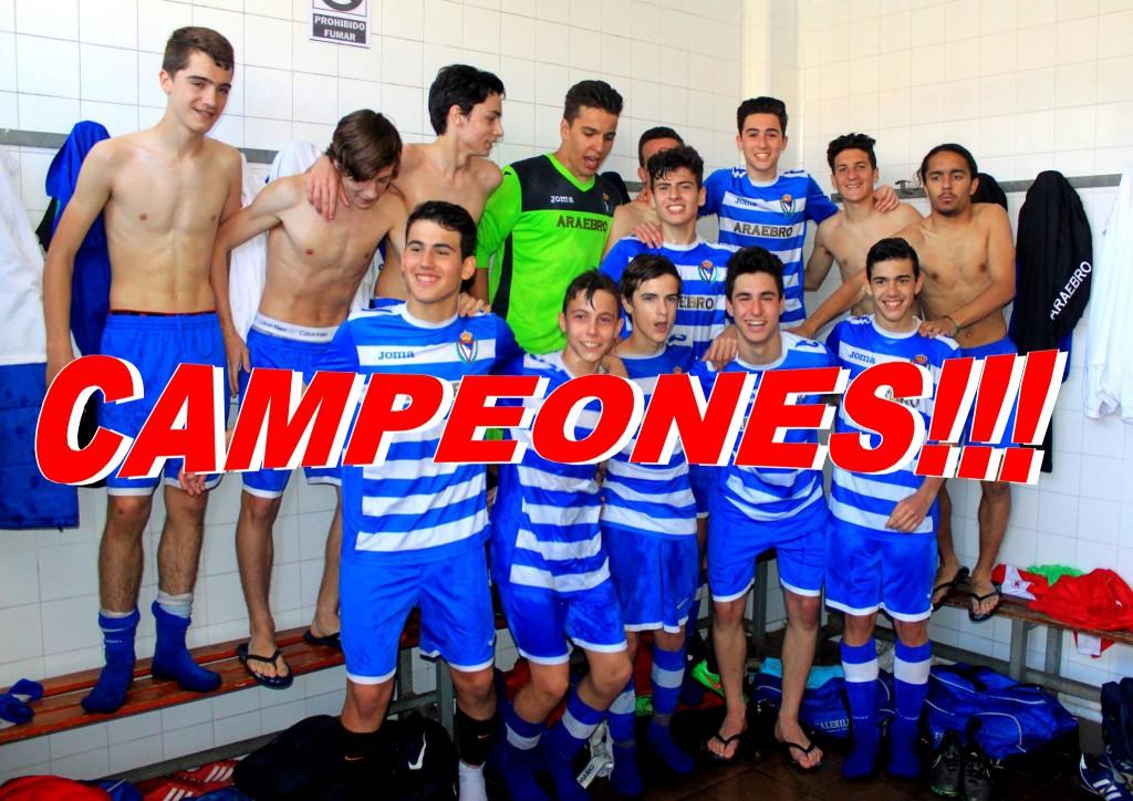 2ª Cadete Campeones 2015/16